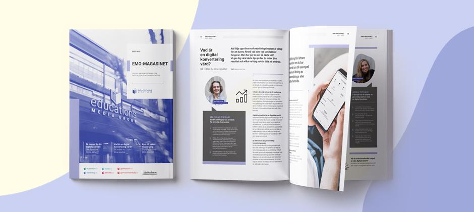 EMG-magasinet – din guide till digital marknadsföring
